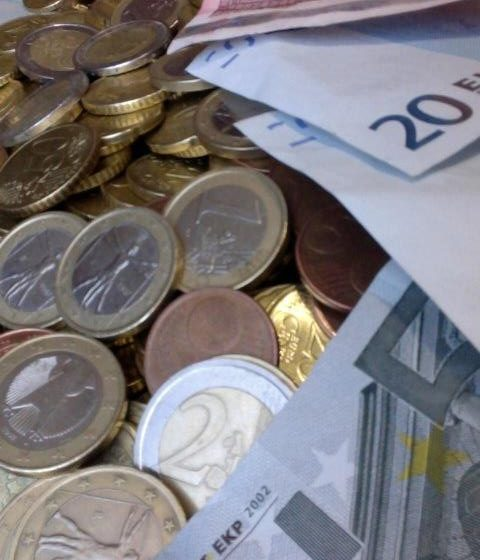 Symbolbild Geldschwemme
