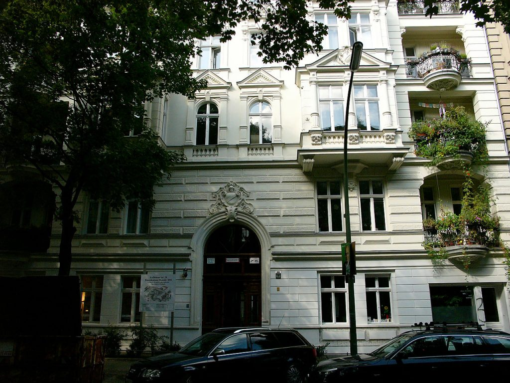 Sanierter Altbau in Berlin